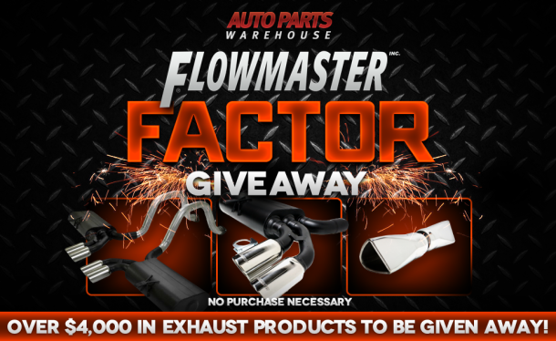 Flowmaster Factor Giveaway Poster